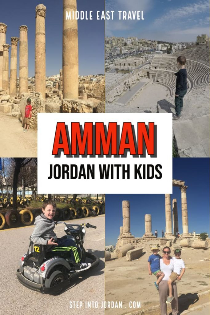 Things to do in Amman Jordan with kids.
