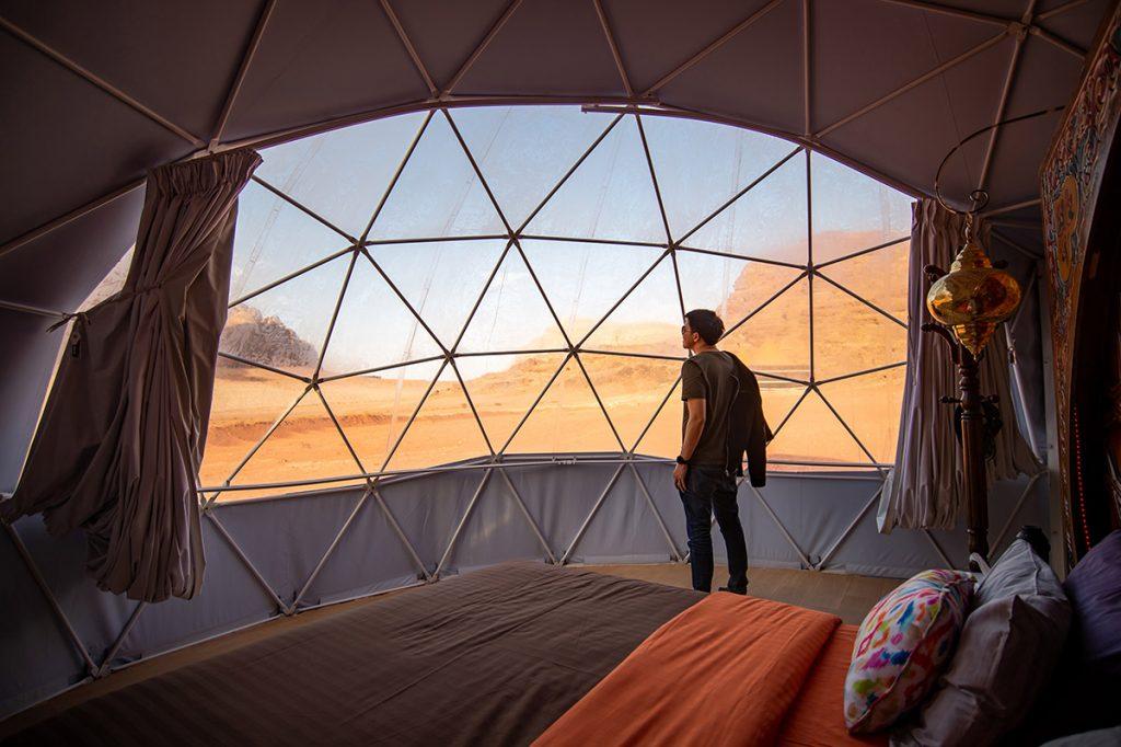 Wadi Rum - Dome Martian Luxury Accomodation