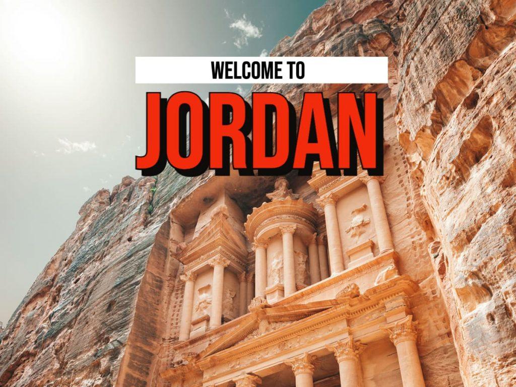 travel to jordan with step into jordan.